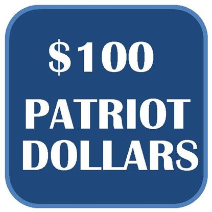$100 Patriot Dollars
