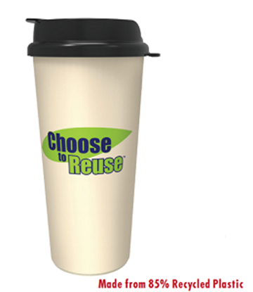 Beverageware: Choose to Reuse Tumbler