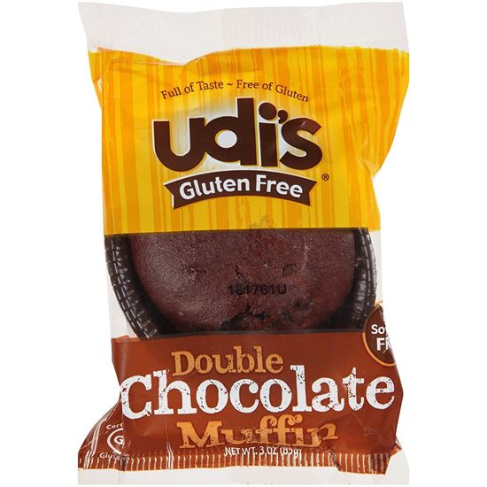 Picture of Gluten Free: Double Chocolate Muffin